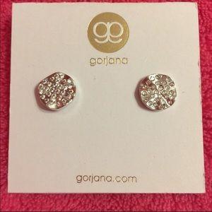 Gorjana Aurora Sterling Silver Earrings NWT
